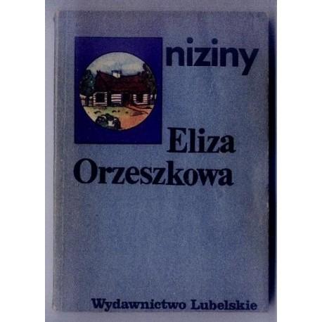 Eliza Orzeszkowa NIZINY [antykwariat]