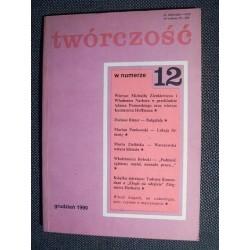 TWÓRCZOŚĆ nr 12 (541). GRUDZIEŃ 1990 [antykwariat]