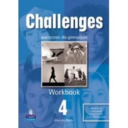 JĘZYK ANGIELSKI. CHALLENGES 4. WORKBOOK