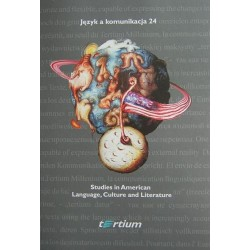 STUDIES IN AMERICAN LANGUAGE, CULTURE AND LITERATURE [JAK24]