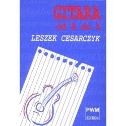 GITARA OD A DO Z Leszek Cesarczyk