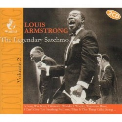THE LEGENDARY SATCHMO [2 CD box]