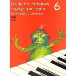 Wiera Sawicka, Gabriela Stempniowa (red.) ETIUDY NA FORTEPIAN 6 / STUDIES FOR PIANO 6