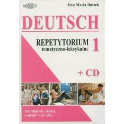 Ewa Maria Rostek  JĘZYK NIEMIECKI. REPETYTORIUM TEMATYCZNO-LEKSYKALNE 1 + CD