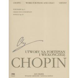 Fryderyk Chopin UTWORY NA FORTEPIAN I WIOLONCZELĘ - NOWOŚĆ