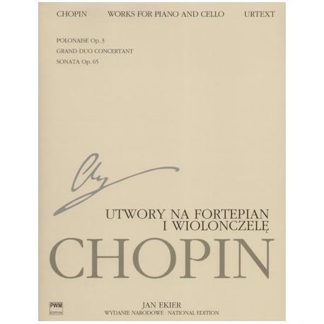 UTWORY NA FORTEPIAN I WIOLONCZELĘ Fryderyk Chopin