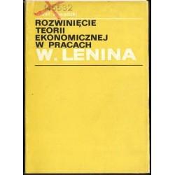Józef Zawadzki ROZWINIĘCIE TEORII EKONOMICZNEJ W PRACACH W. LENINA [antykwariat]