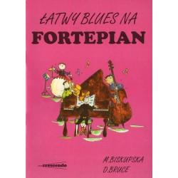 ŁATWY BLUES NA FORTEPIAN Małgorzata Biskupska, David Bruce